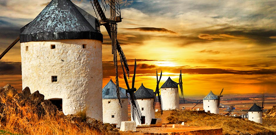 molinos de viento excursion la mancha de don quijote